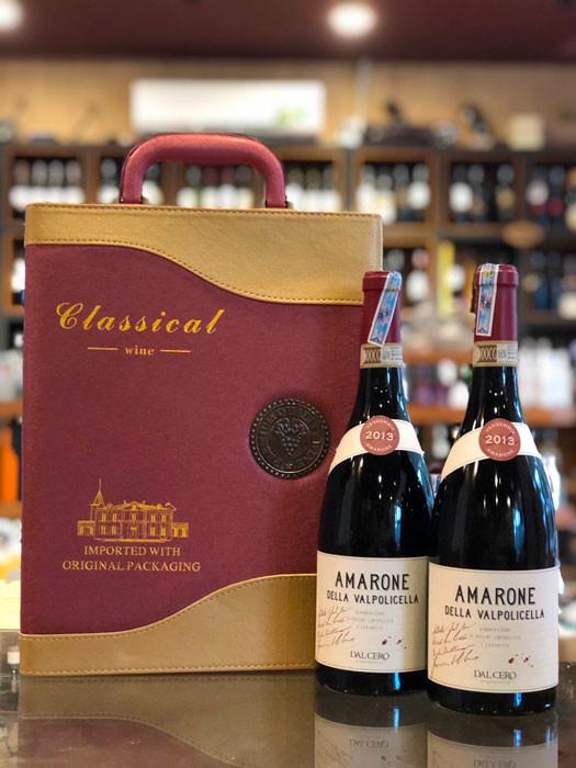 Rượu vang Amarone đẳng cấp sang trọng