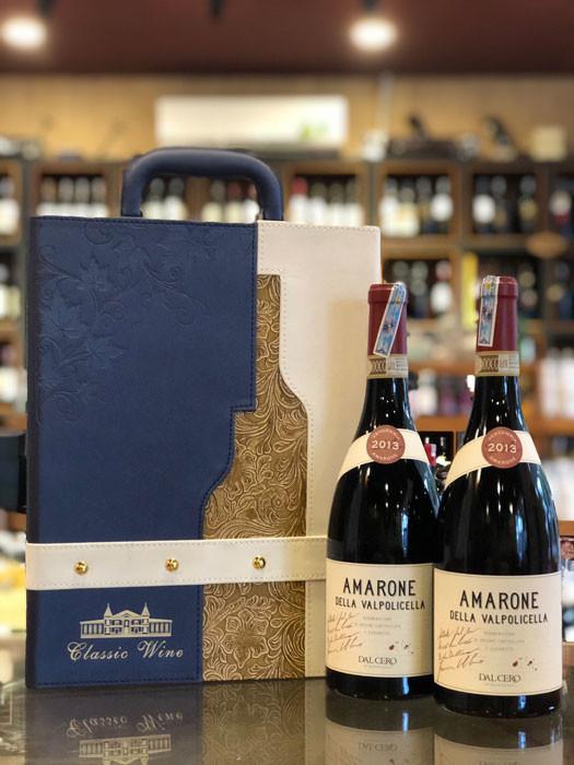 Rượu Vang Amarone + Hộp 2 chai